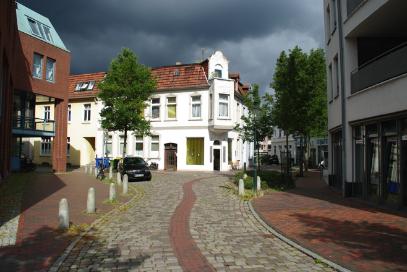 Das Praxis-Gebäude an der Ecke Nelkenstraße/Johannisstraße